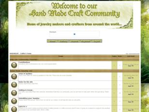 Free forum : Hand Made Jewelry & Crafts Community