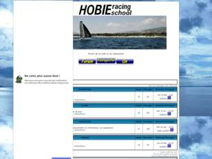 HOBIE RACING SCHOOL
