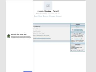 creer un forum : Forum d'hockey