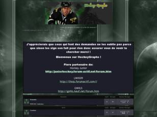 creer un forum : Hockeygraphs