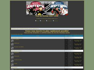 Forum gratuit : Pool de Hockey 2007-2008