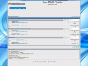 Forum gratis : Free forum : House Of Faith Ministr