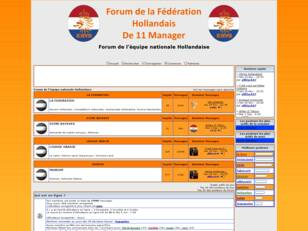 Forum de l'équipe nationale Hollandaise