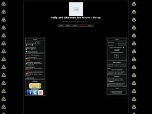 Holly and Shannen fan forum