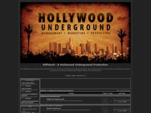 RiffVault.com : A Hollywood Underground Production