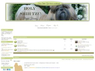 FORUM - For Shih Tzu Lovers' Everywhere