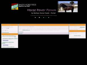 Horse Power Forum - by Baileys Horse Feeds
