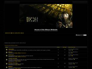 Heroes of the Silence Webseite