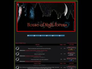 The Official House of Night Forum