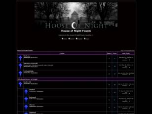 House of Night Fourm