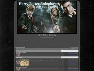 Free forum : Harry Potter Roleplay