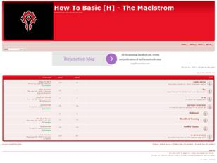 How To Basic [H] - The Maelstrom