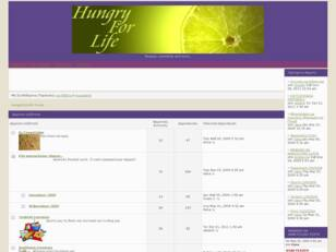 Hungry For Life Forum