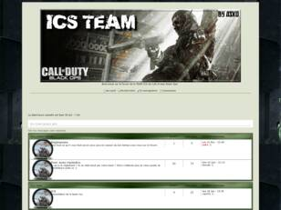 ICS team Black Ops.