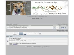 HungAry DOGS - Vereinsforum