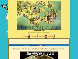 Immortals' Law