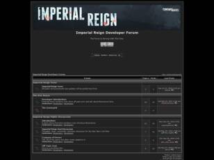 Imperial Reign Forums