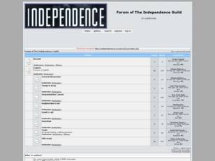 Independence Guild Forum