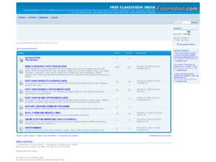 Free forum : FREE  CLASSIFIEDS INDIA
