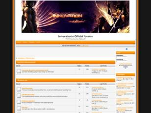 Innovation's Official forums