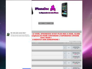 iPhone Doc : Le dispensaire de votre iPhone