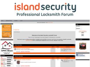 Island Locks - Lock Picking - Locksmith Forum - Locksmith Courses