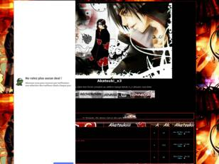 creer un forum : Akatsuki_x3