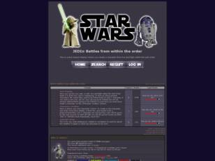Free forum : JEDI≈ Battles from within the order