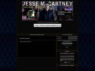 Jesse McCartney Thailand Fans Site