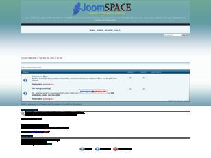 Joomspace - Joomla archives for sharing