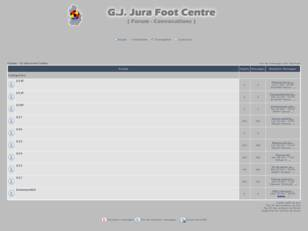 GJ Jura Foot Centre - Forum