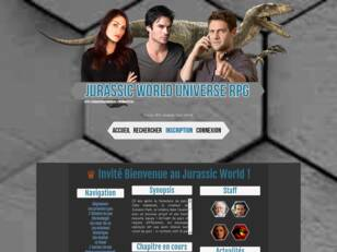 Jurassic Park/World Universe: forum rpg