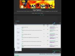 Free forum : Kaze Fighters Forum