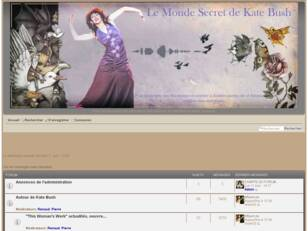 Le forum du Monde secret de Kate Bush