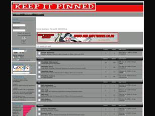 Keep It Pinned Forum Home Page