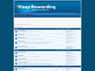 Keep Rewarding Forum