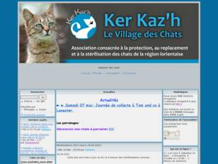 Forum adoption chats: Kerkaz'h Le Village des Chats