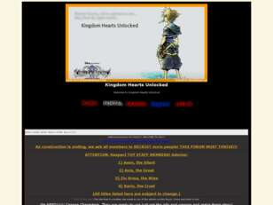 Free forum : Kingdom Hearts Unlocked