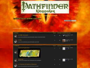 FORUM PATHFINDER KINGMAKER