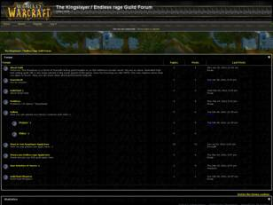 The Kingslayer Guild Forum