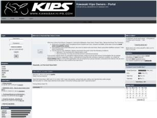 Kawasaki Kips Owner Forum