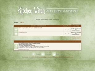 Kitchen Witch Hearth School and Forum
