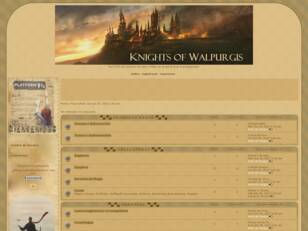 Knights of Walpurgis, foro RPG