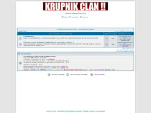 Forum de l'alliance Krupnik Clan !!