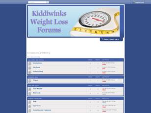 The Kiddiwinks Weight Loss Forums