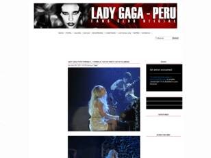 Lady Gaga Perú | Official Fan Club of Perú