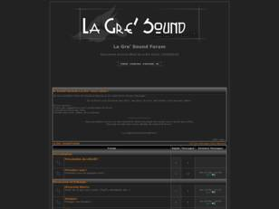 La Gre' Sound Forum