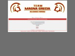 Team Magna Grecia - Alliance Forum