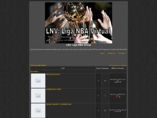Foro gratis : LNV: Liga NBA Virtual