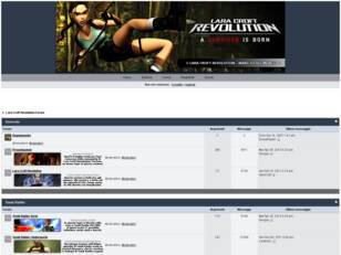 Lara Croft Revolution Forum